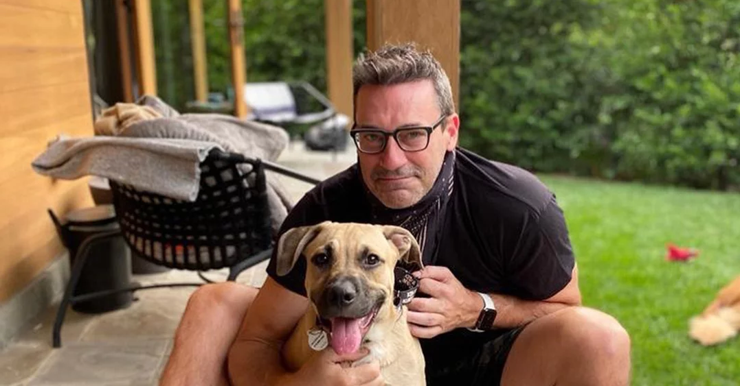 Meet Splash! Jon Hamm Adopts Adorable Rescue Dog Who Was Previously Returned to Shelter Twice