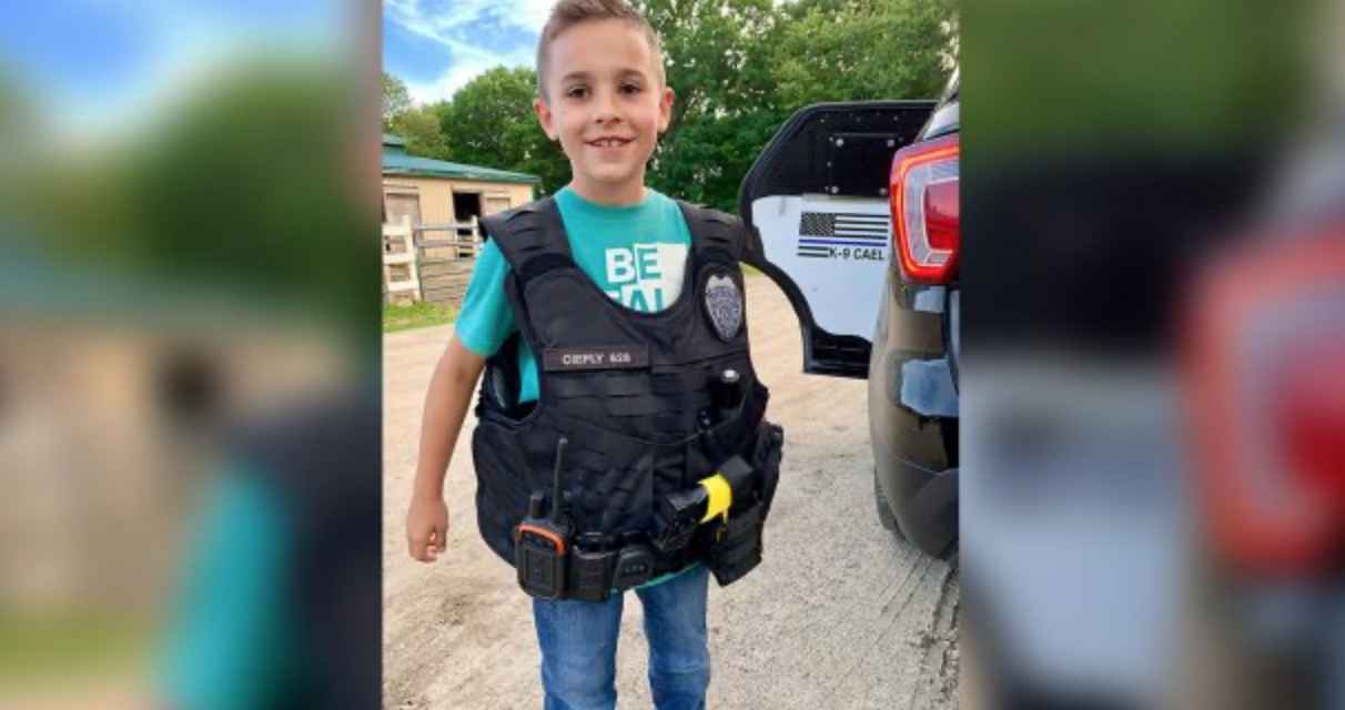 10-Year-Old Ohio Boy Raises Over $315,000 to Provide Bulletproof Vests for Police Dogs