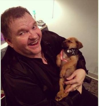 A Puppy Saved By Meat Loaf Gets To See What's It Like To Live Like A Rock Star!